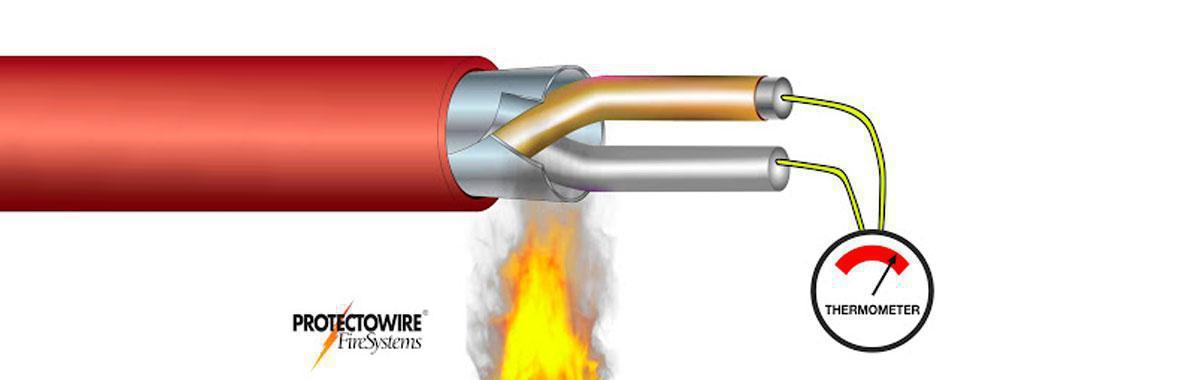 Detector linear de calor
