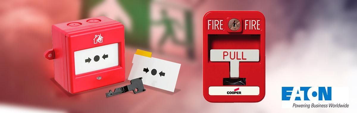 Sistema de alarme de incêndio Eaton