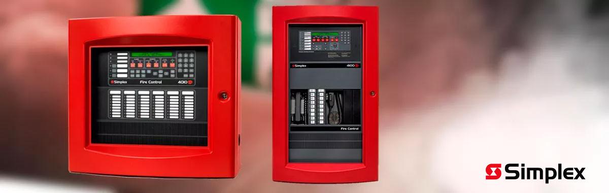 Sistema de Alarme de Incêndio Simplex