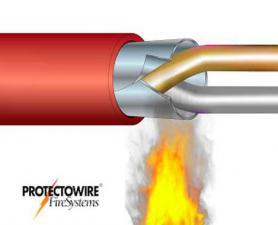 Cabo de detecção linear de calor por fibra ótica Protectowire PFS