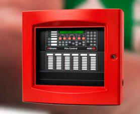 Central de alarme de incêndio simplex